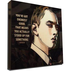 Eminem Poster Plaque