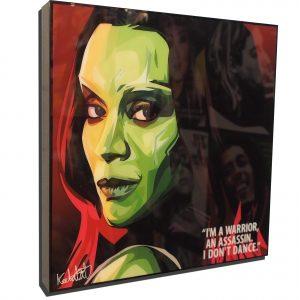 Gamora Poster Plaque
