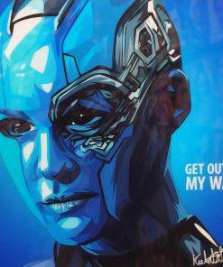 Nebula Poster Plaque