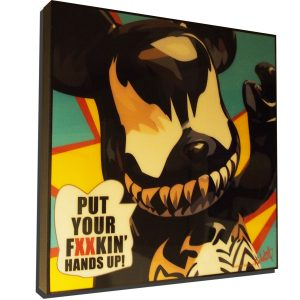 Be@rBrick Venom Poster Plaque