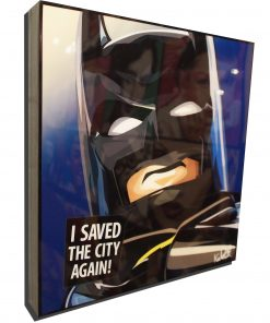 LEGO Batman Poster Plaque