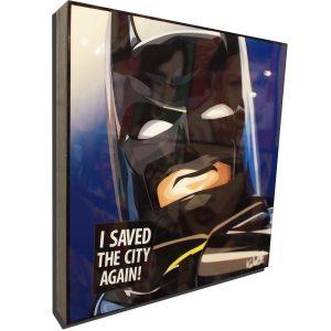 LEGO Batman Poster Plaque