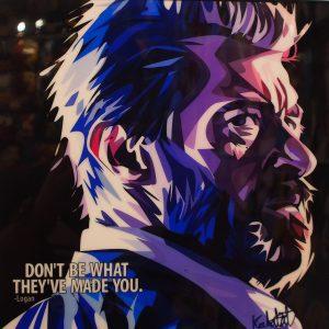 Logan Poster Plaque