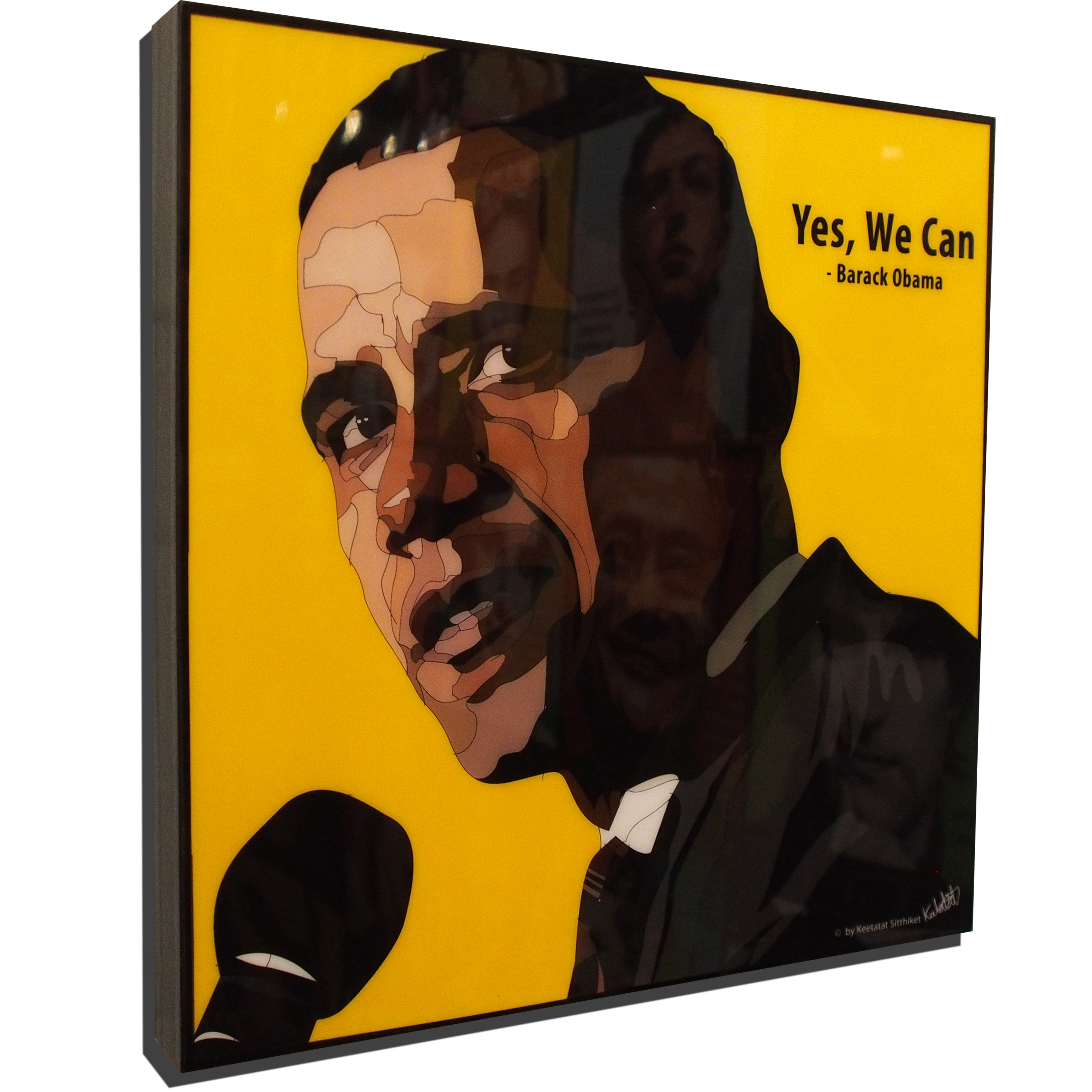 Barack Obama Pop Art Poster Yes We Can Infamous Inspiration