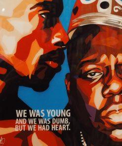 Tupac Shakur & Biggie Smalls Poster