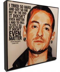 Chester Bennington Poster
