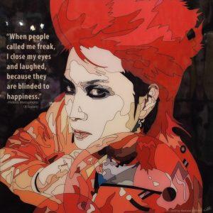 Hideto Matsumoto X Japan Poster Plaque
