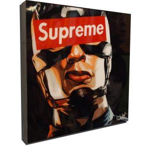 Captain America Supreme Poster Plaque