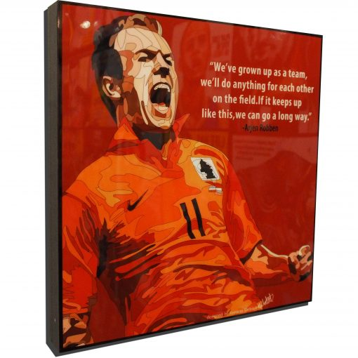 Ajern Robben Poster Plaque