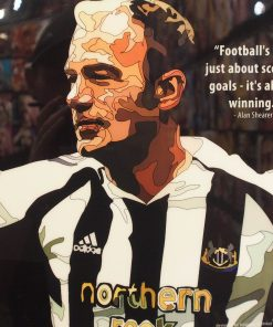 Alan Shearer Poster Plaque