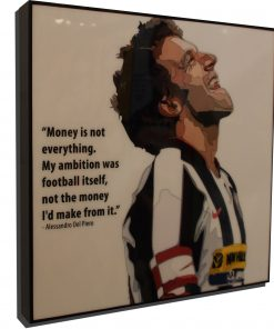 Alessandro Del Piero Poster Plaque