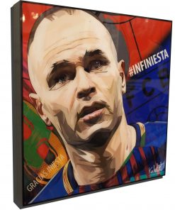 Andrés Iniesta Poster Plaque
