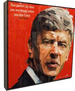 Arsène Wenger Poster Plaque