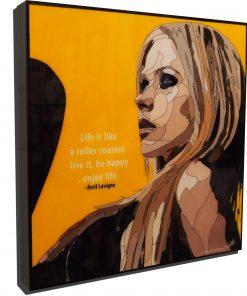 Avril Lavigne Poster Plaque