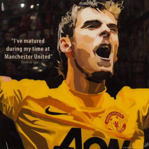 David de Gea Poster Plaque