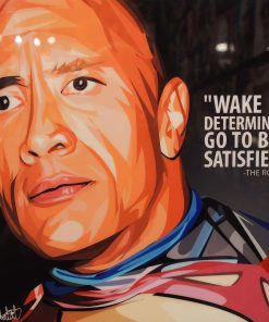 Dwayne the rock Johnson Poster