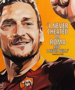 Francesco Totti Poster Plaque