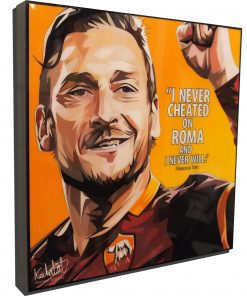Francesco Totti Poster Plaque