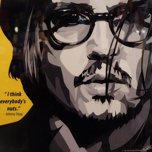 Johnny depp Poster Plaque