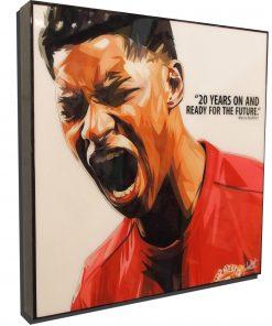 Marcus Rashford Poster Plaque