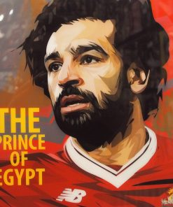 Mohamed Salah Poster Plaque