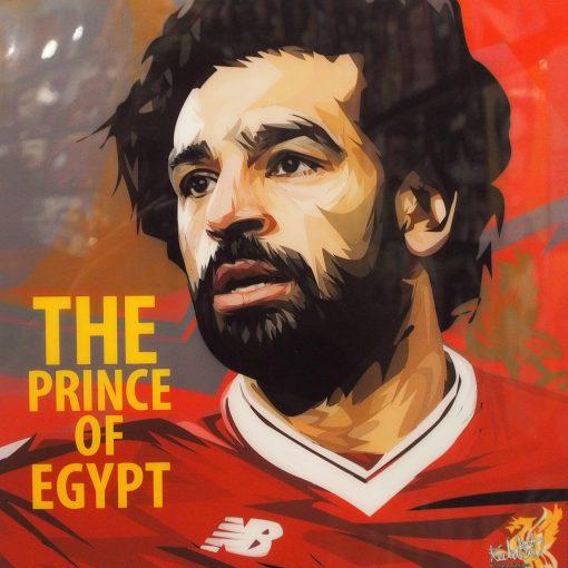 Mohamed Salah Poster Plaque