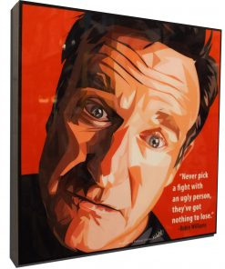 Robin Williams Poster Plaque
