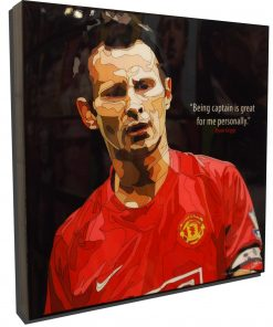 Ryan Giggs Poster Plaque