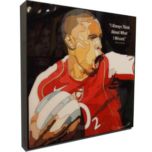 Thierry Henry Poster Plaque