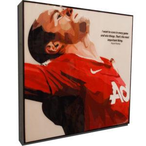 Wayne Rooney Poster Plaque