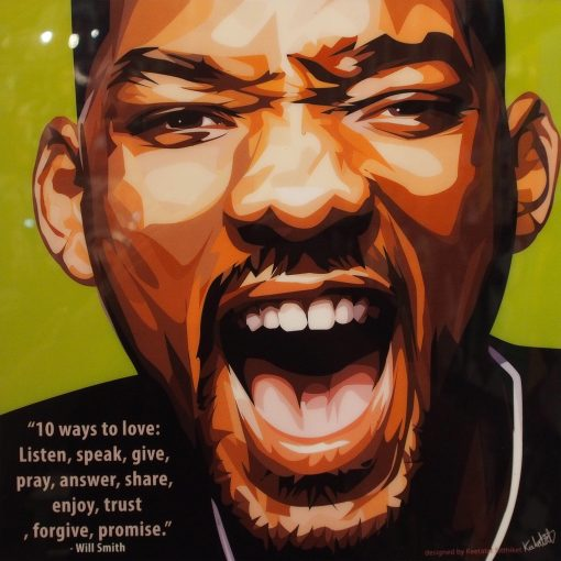 Will Smith Poster Plaque