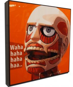 Attack on Titan Poster Plaque