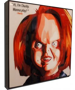 Chucky Poster Plaque