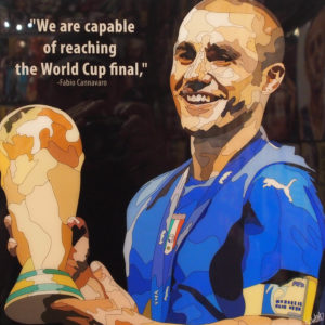 Fabio Cannavaro Poster Plaque