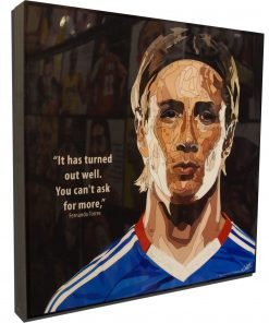 Fernando Torres Poster Plaque