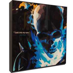 Ghost Rider Poster Plaque