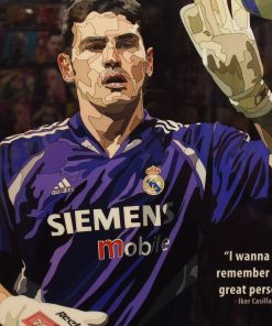 Iker casillas Poster Plaque