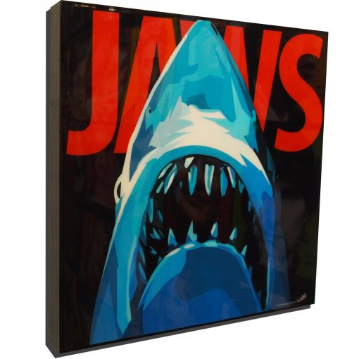 JAWs Movie Poster Plaque