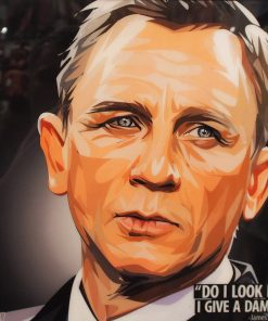 James Bond Daniel Craig Poster