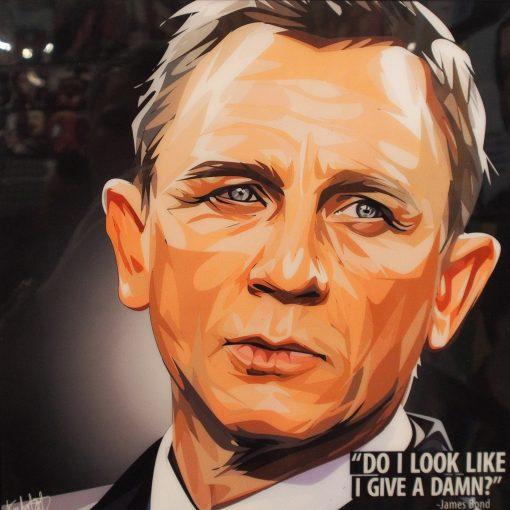 James Bond Daniel Craig Poster