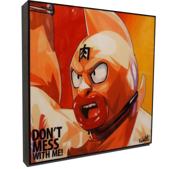 Kinnikuman Poster Plaque