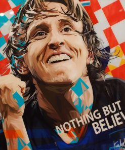 Luka Modrić Poster Plaque