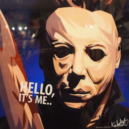 Mike Myers Poster Plaque