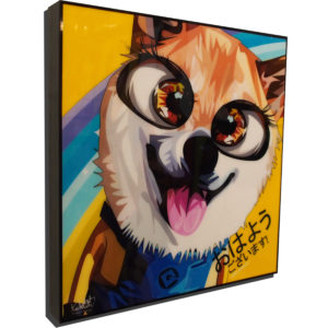 Minion Fox Poster Plaque