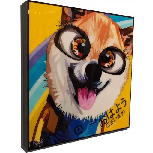 Minion Fox Poster Plaque