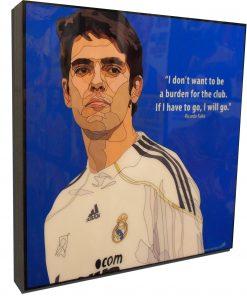 Ricardo Kaka Poster Plaque
