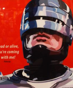 Robocop Poster Plaque