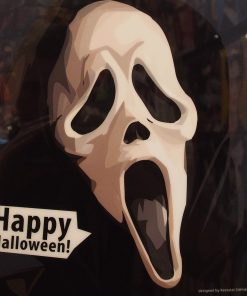 Scream Poster Plaque