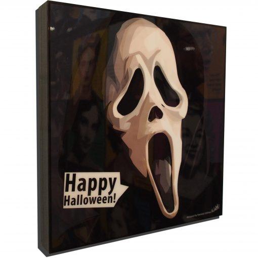 Scream Poster Plaque