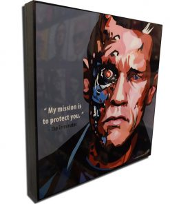 The Terminator Poster Plaque